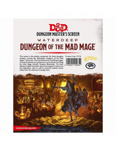D&D 5th Edition Waterdeep Mad MageDungeon Masters Screen