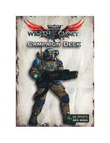 Warhammer 40K: Wrath & Glory RPG Campaign Deck