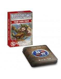 BLOOD BOWL CARDS: WOOD ELVES TEAM