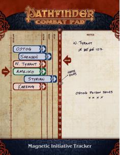 Pathfinder P2 Combat Pad