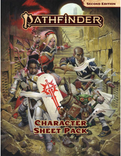 Pathfinder P2  Character Sheet Pack