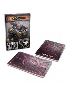 NECROMUNDA ENFORCER TACTICS CARDS