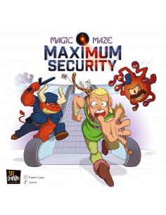 Magic Maze Maximum Security Expansion
