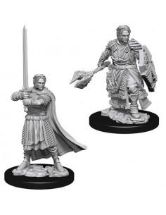 D&D Nolzur´s Miniatures Male Human Cleric