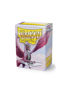 Dragon Shield Matte Pink (100)