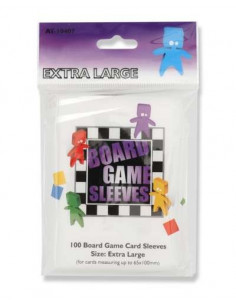 Board Game Sleeves Extra Large (65x100)