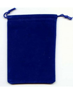Large Suedecloth Dice Bag (5x7) - Royal Blue