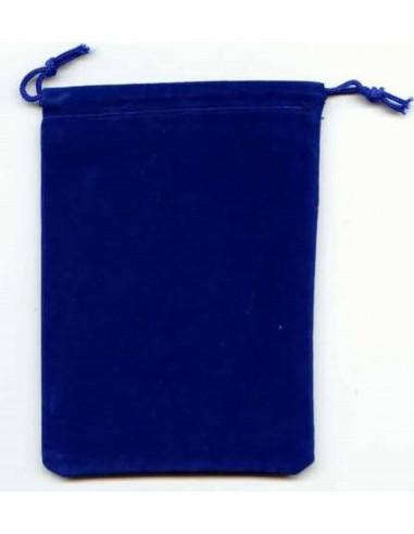 Large Suedecloth Dice Bag (5x7) - Royal Blue
