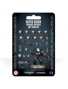 RAVEN GUARD PRIMARIS UPGRADES & TRANSFRS