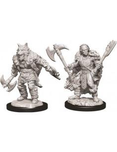 D&D Nolzur´s Miniatures Male Half-Orc Barbarian