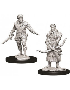 D&D Nolzur´s Miniatures Male Human Rogue