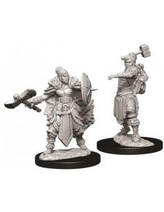 D&D Nolzur´s Miniatures Female Half-Orc Barbarian