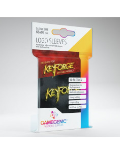 Keyforge Logo Sleeves Black