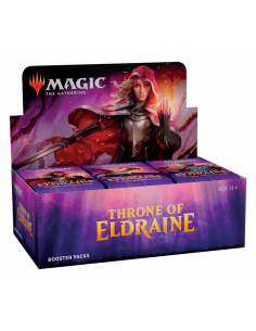 Släpps 4/10 Magic Throne of Eldraine Booster Display (36) PLAYOTEKET.COM
