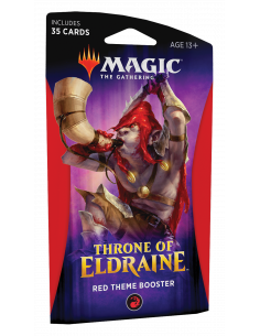 Magic Throne of Eldraine Theme Booster Red