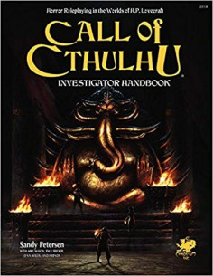 Call of Cthulhu RPG 7th Edition Investigator Handook