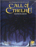 Call of Cthulhu RPG Keeper Rulebook 7th