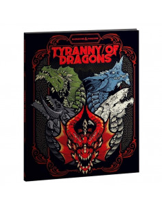 D&D 5th Edition Tyranny of Dragons Alternate Cover