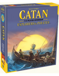 Catan Explorers & Pirates 5-6 Player Exp.