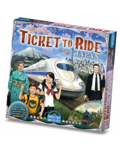 Ticket to Ride Map Collection 7 Japan/Italy