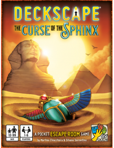 Deckscape The Curse of the Sphinx