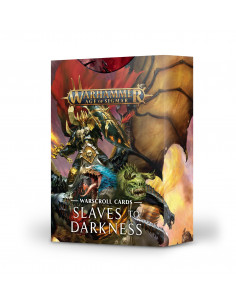 WARSCROLL CARDS: SLAVES TO DARKNESS ENG
