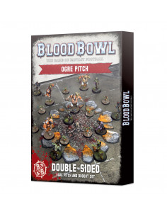 BLOOD BOWL: OGRE TEAM PITCH & DUGOUTS