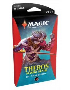 Magic Theros Beyond Death Theme Booster Red