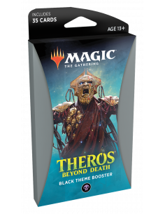 Magic Theros Beyond Death Theme Booster Black