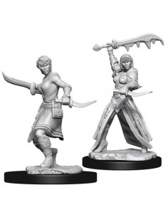 D&D Nolzur´s Miniatures Female Human Rogue