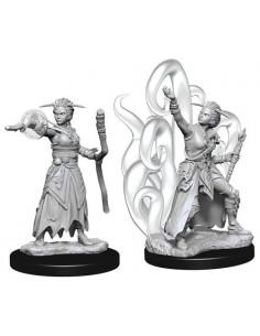 D&D Nolzur´s Miniatures Female Human Warlock