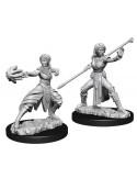 D&D Nolzur´s Miniatures Female Half-Elf Monk