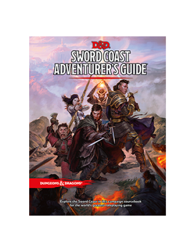 D&D 5th Ed. Sword Coast Adventurers Guide