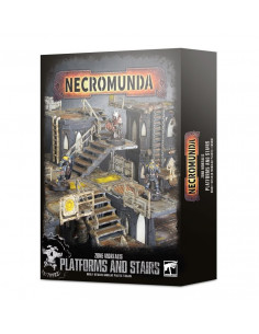 NECROMUNDA: ZONE MORTALIS PLATFORMS & STAIRS