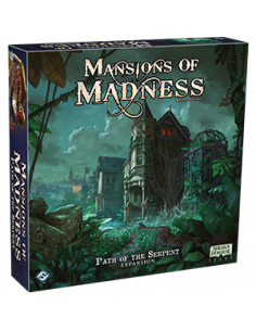 Mansions of Madness 2nd Edition Path of the Serpent Expansion