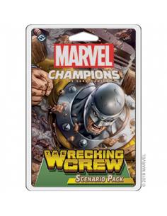 Marvel Champions Card Game Wrecking Crew Scenario Pack