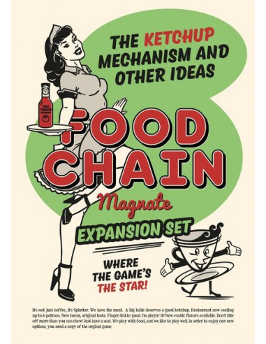 Food Chain Magnate Ketchup Mechanism