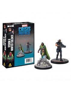 Marvel Crisis Black Panther & Killmonger