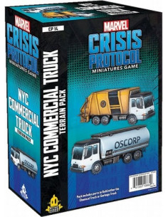 Marvel Crisis Protocol NYC Commercial Truck
