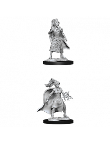 D&D Nolzur´s Miniatures Female Human Sorcerer