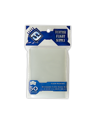 Sleeves FFG Clear 63,5x88 mm (Gray)