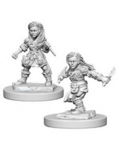 D&D Nolzur´s Miniatures Halfling Female Rogue