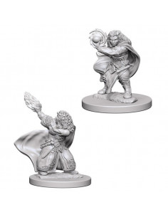 D&D Nolzur´s Miniatures Dwarf Female Wizard