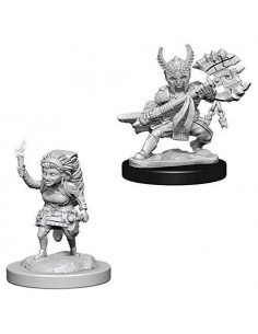 D&D Nolzur´s Miniatures Hafling Female Fighter