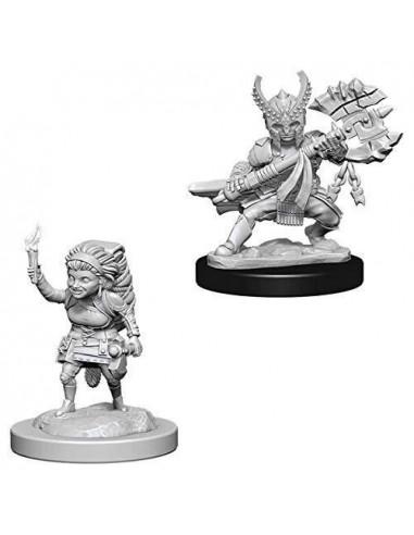 D&D Nolzur´s Miniatures Hafling Female Fighter