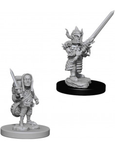 D&D Nolzur´s Miniatures Halfling Male Fighter