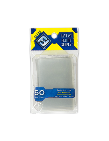 Sleeves FFG Clear 41x63 mm (Yellow)