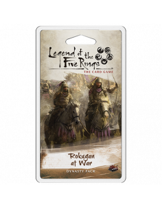 Legend of the Five Rings LCG Rokugan at war dynasty pack