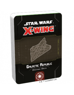 Star Wars X-Wing 2.0 Galactic Republic Damage Deck