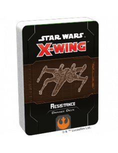 Star Wars X-Wing 2.0 Resistance Damage Deck